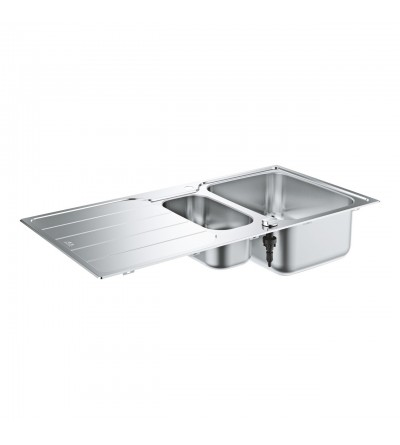 2 bowl stainless steel sink Grohe K500 - 31572SD1