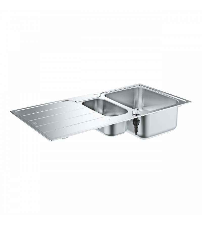 2 bowl stainless steel sink...