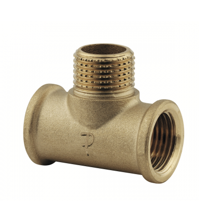 Brass T Shape Pipe female male female Tee Adapter FP Pattaroni F139