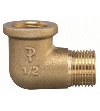 Thread Pipe Elbow Male x Female brass FP-Pattaroni F92