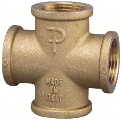 Tube Connector 4-Way FP...