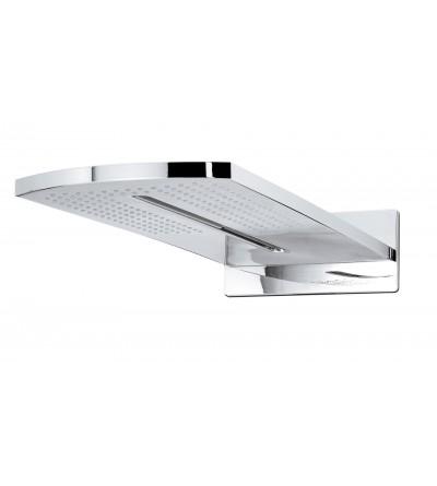 Soffione doccia in ottone a due getti Damast Blade 14004