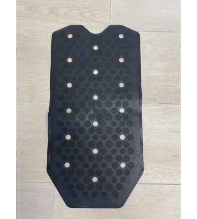 Black Anti-slip bath and shower mat RIDAP Sissi 000483006