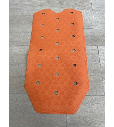 Orange Anti-slip bath and shower mat RIDAP Sissi 000485097