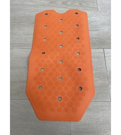 Orange rutschfeste Bade- und Duschmatte RIDAP Sissi 000485097
