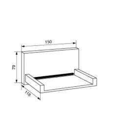 bocca o soffione di erogazione a cascata POLLINI ACQUA DESIGN SC6012