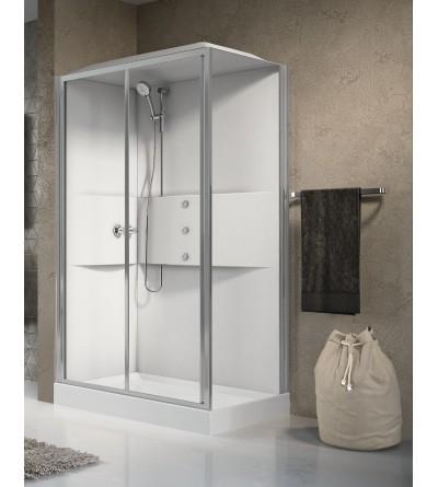 Cabinas de ducha hydromassaye Novellini media 2.0 2P120X80