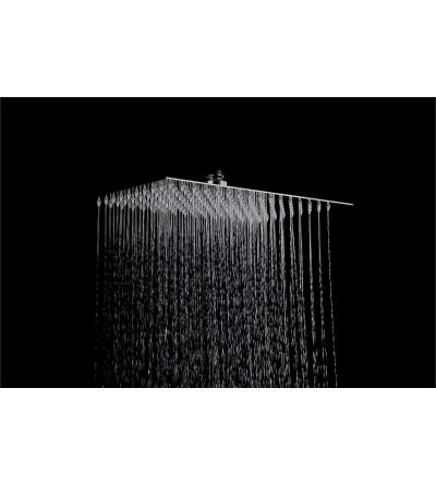 Soffione doccia rettangolare 300 x 200 Piralla Rubinetterie LS300200