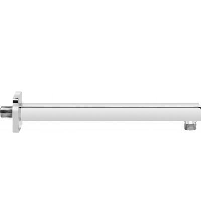 Brazo de ducha moderno de diseño redondo Piralla Rubinetterie BRDSQ