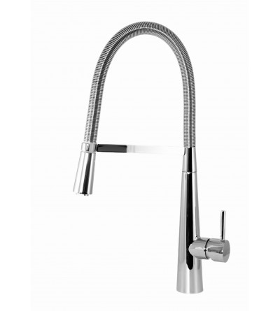 Kitchen mixer with spring mouth ESGG Rubinetterie Pieve