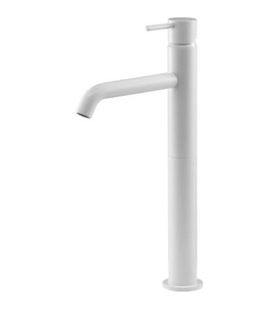Miscelatore per lavabo alto bianco opaco Gattoni Easy 2384/23BO