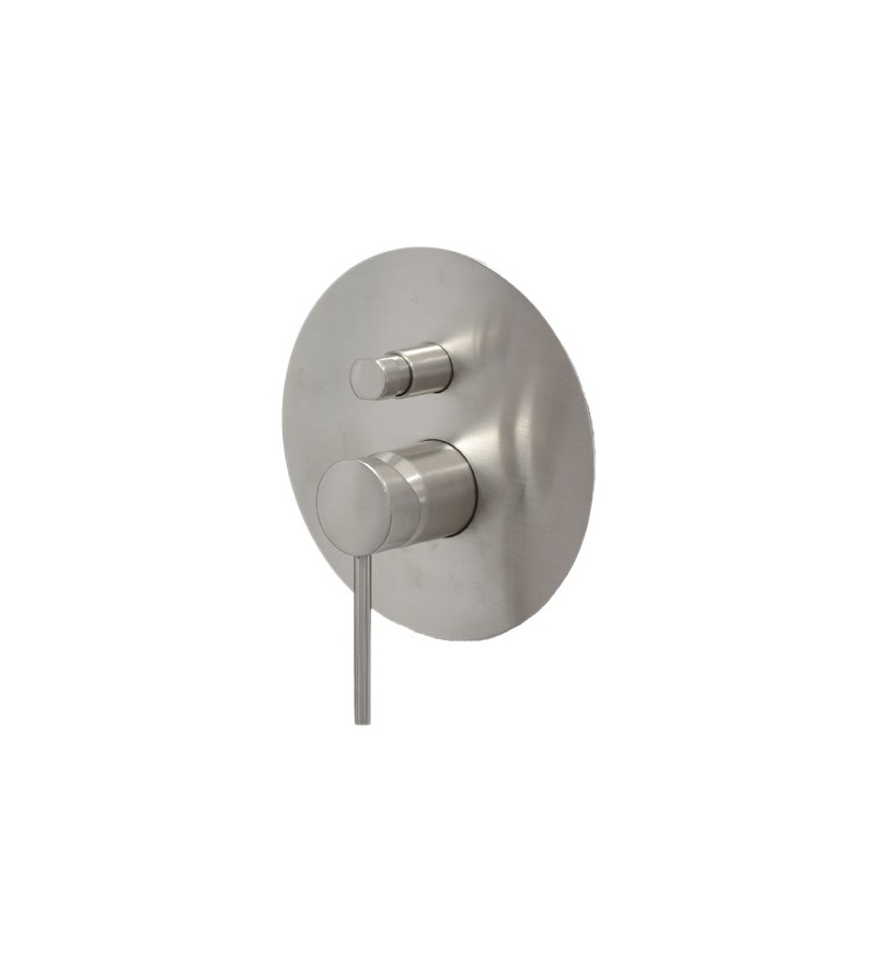 2-way built-in shower mixer...