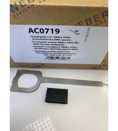 Airador rettangular Small 24x6 Webert Aria AC0719