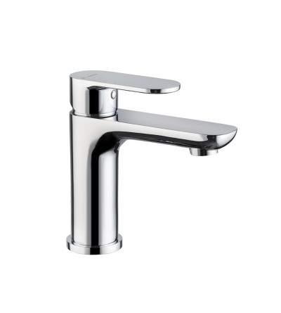 Single-lever basin mixer without pop-up waste set Newform Extro 69312