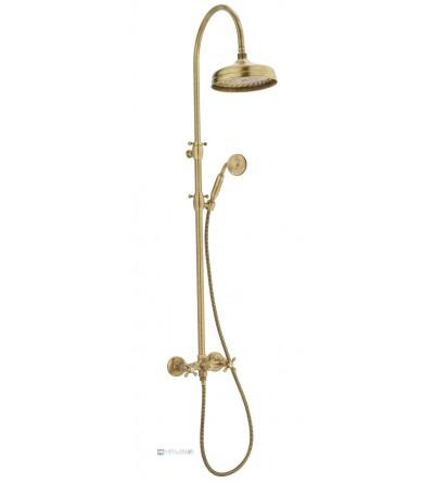 Colonna doccia meccanica con deviatore Porta & Bini Old Fashion 6086
