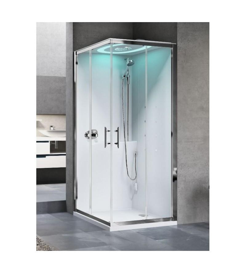 Corner shower enclosure...