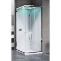 Cabina de ducha de esquina...