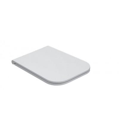 Removable duroplast toilet seat 46 x 36 Globo Stone ST019BI-ST020BI