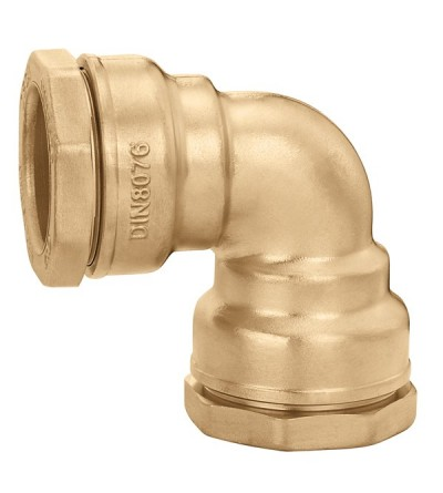 Elbow fitting in brass Caleffi 866