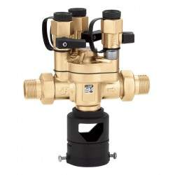 Backflow preventer with...