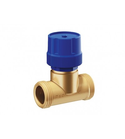 2-way BRASS thermo-electric piston stop valve FAR 3087