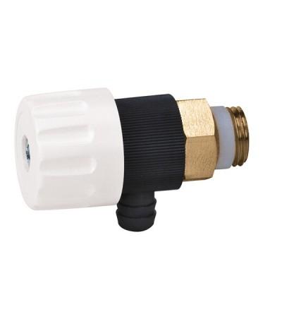 Mini rubinetto di scarico Tmax 85 °C Caleffi 337
