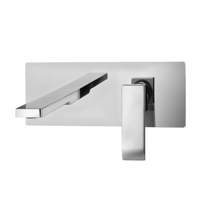 Wall mounted wash basin mixer Paffoni Level LES104 - LES105- LES106