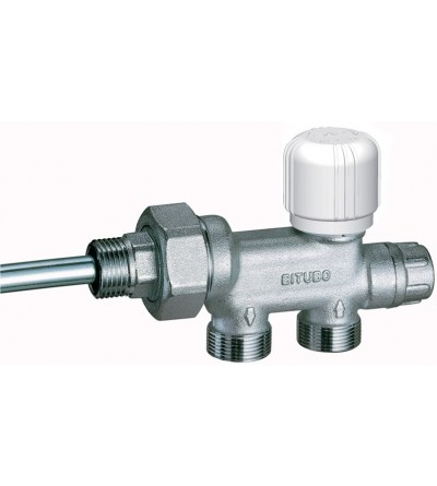 thermostatic double-pipe valve FAR 1430