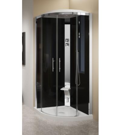 Cabina doccia ad angolo 90 x 90 Novellini Crystal R