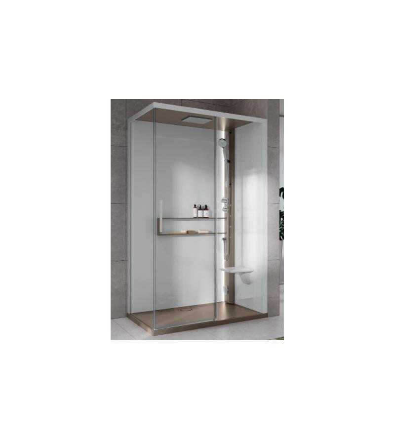 Asymmetric shower enclosure...