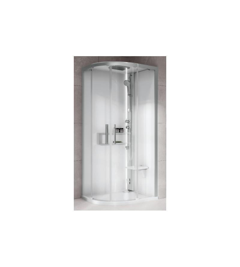 Cabina doccia semicircolare...