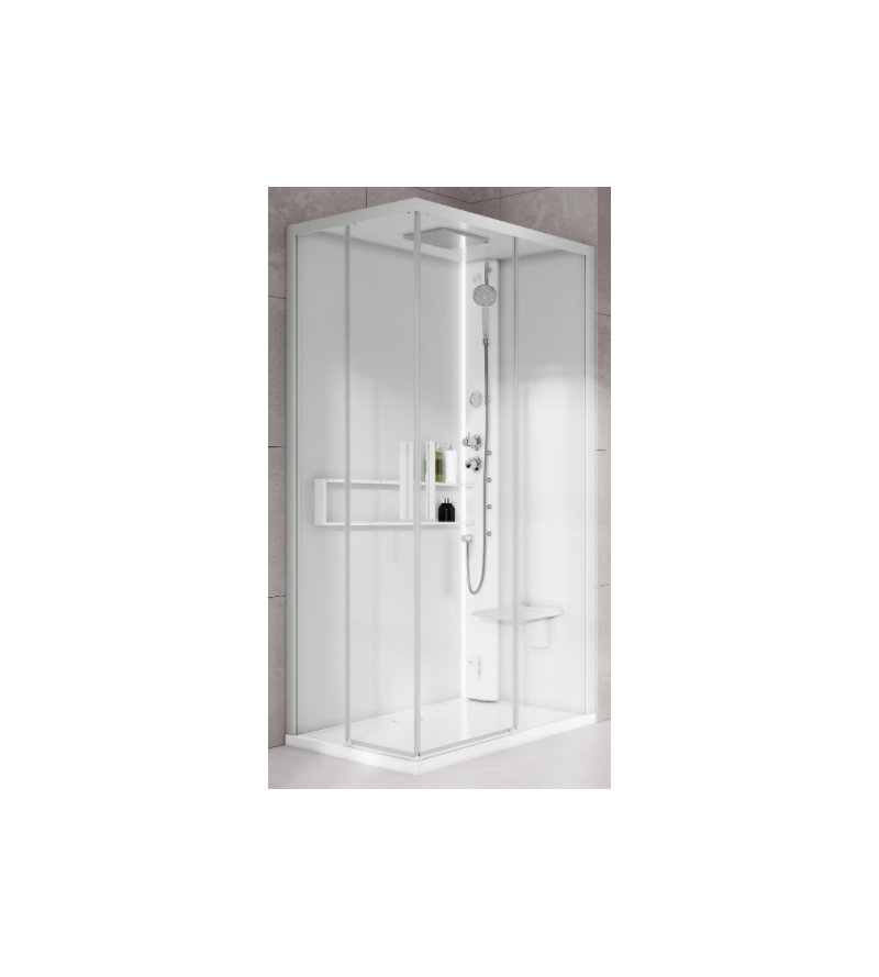 Square multifunction shower...