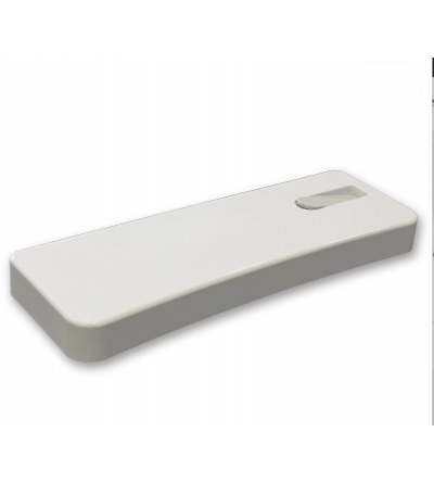 White cover with button for external toilet boxes Pucci Nova-Eco 80004010