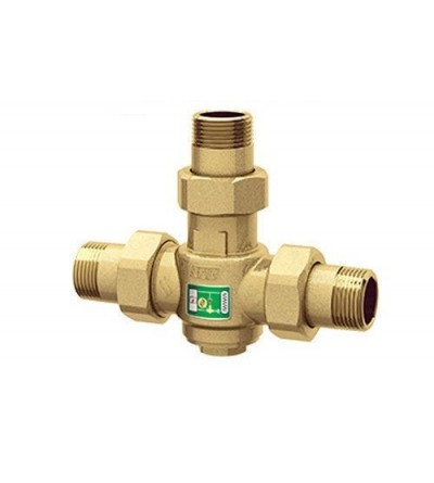 Anti-condensation valve for solid fuel heat generators FAR 3966