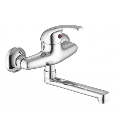 Wall kitchen mixer Porta&Bini Marittima 650