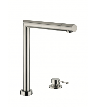 Sink bendable mixer with remote control on deck Newform 2438