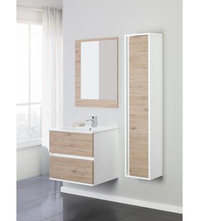 Suspended bathroom cabinet 60 cm Feridras fabula 801009