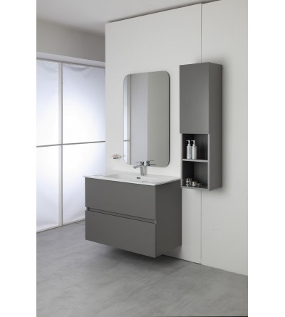 Complete modern bathroom composition 90 cm Feridras Pastello 803001