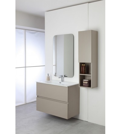 Suspended bathroom composition 90 cm Feridras Pastello 803002