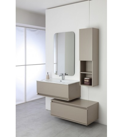 Separate suspended bathroom composition 90 cm Feridras Pastello 803004