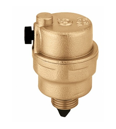 ROBOCAL® - Valvola automatica di sfogo aria. Scarico orizzontale Caleffi 5024