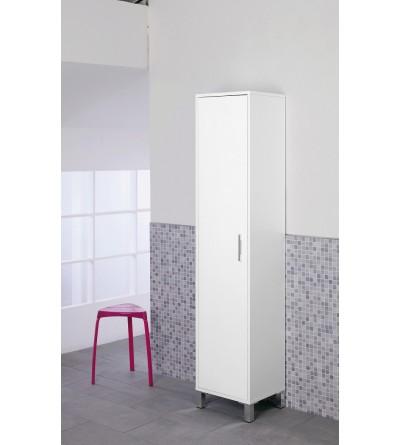 Broom holder in white Feridras Mondo 527040