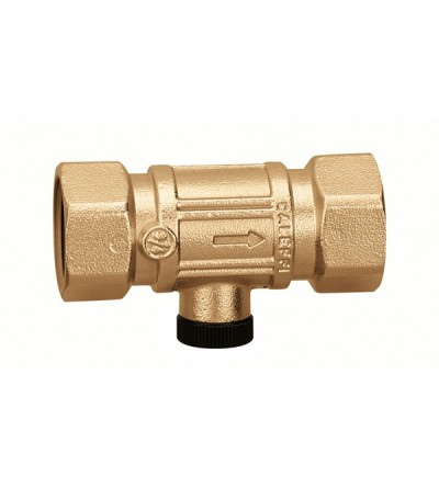 Double check valve. Controllable with female connections Caleffi 3048