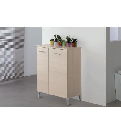 Wardrobe or shoe cabinet in light oak color 60 cm Feridras Stella 799069