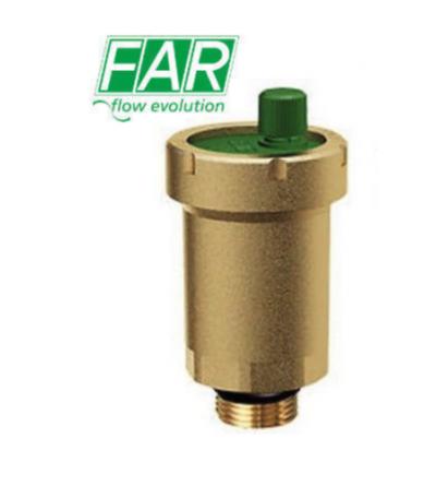 GAISER - Straight automatic air vent valve FAR 2045