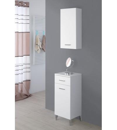 Composizione bagno salvaspazio colore bianco Feridras Stella 799012