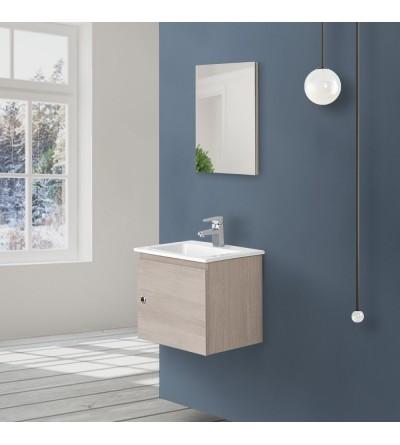 Modern space-saving furniture in light oak Feridras Si50 606053