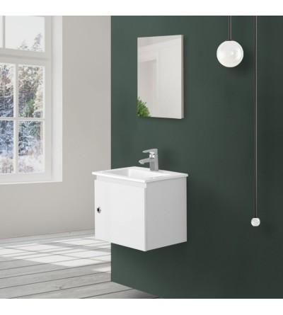 Modern space-saving furniture in white Feridras Si50 606052