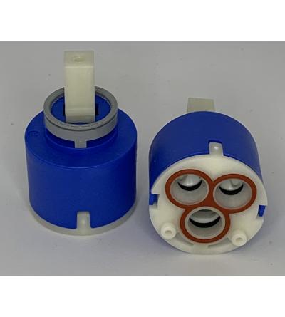 Cartuccia ceramica ricambio per miscelatori FRANKE Ø40 1950015