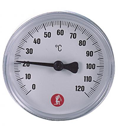Termometro con pozzetto attacco posteriore Giacomini R540